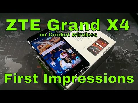 ZTE Grand X 4 - First Impressions - I can't believe this was only $79.99!