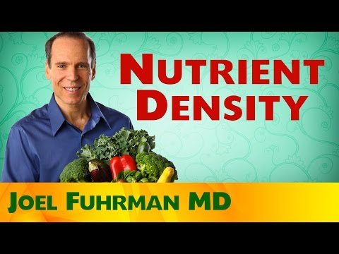 Nutrient Density and Health
