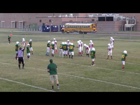 Kahla Middle School   Malik Brown # 7