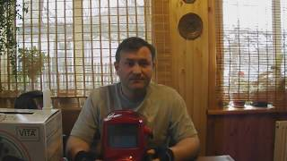 Огляд відео зварювальної маски Хамелеон WH 7000