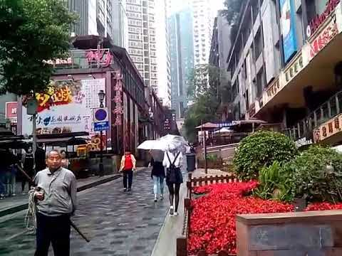 Chongqing, China, streets, part 1.