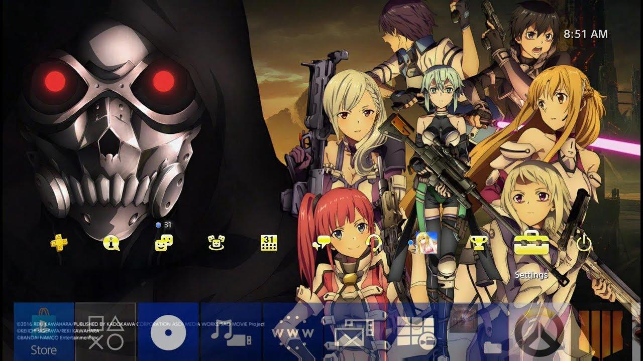 Sword Art Online Fatal Bullet Dynamic Theme Ps4 Youtube