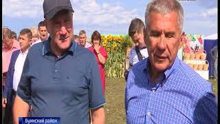 Уборочная кампания в Татарстане преодолела экватор