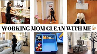 BUSY MOM CLEAN WITH ME (2019) // WORKING MOM CLEANING MOTIVATION