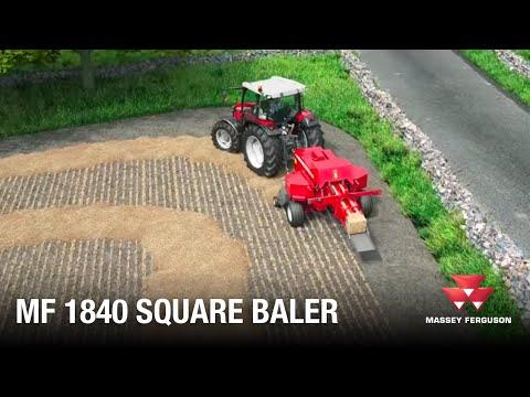 MF 1840 Square Baler   Animation