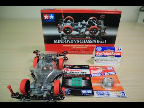TAMIYA MINI 4WD VS CHASSIS EVO.1