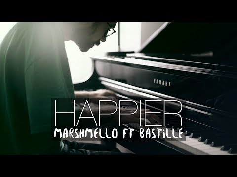 HAPPIER - Marshmello ft. Bastille (Piano Cover) | Costantino Carrara