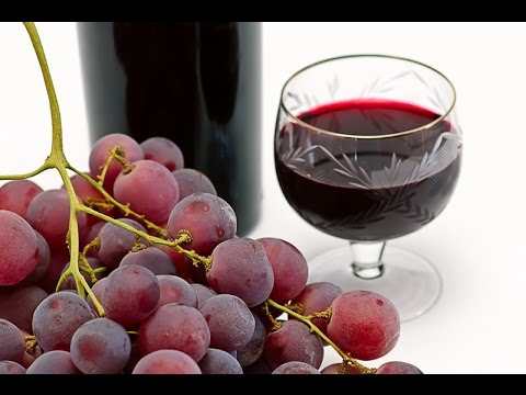 Easy homemade grape wine| 4 ingredients wine
