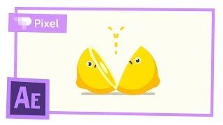 Анимируем лимон в After Effects | уроки для новичков