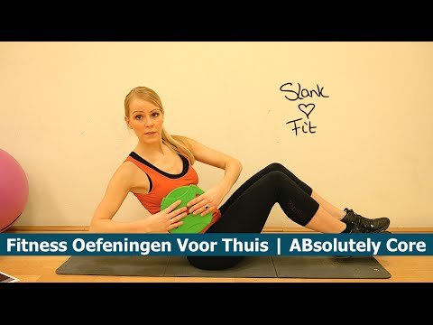 Hedendaags FITNESS OEFENINGEN VOOR THUIS | ABsolutely Core Workout - YouTube CX-97