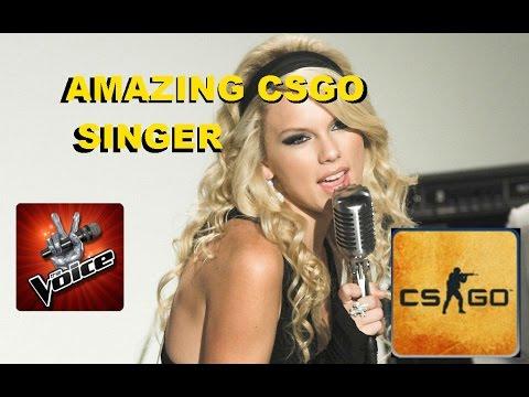 Amazing Singer In CSGO | On The Voice?