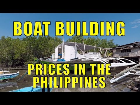 Boat Building Prices In The Philippines.