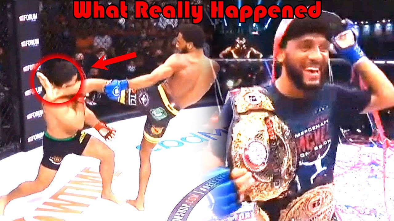 SHOCKING!!! What Really Happened (Patricio Pitbull vs AJ McKee)