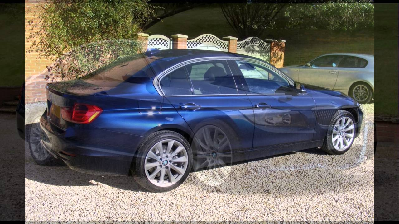 2016 BMW M5 Imperial Blue Xirallic - YouTube