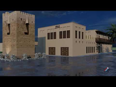 House of Sheikh Khalifa Bin Saeed Al Maktoum, Juthoor Art Center, Bur dubai, UAE.