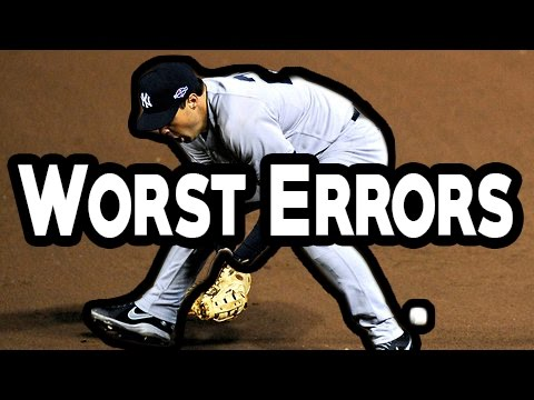 MLB: Worst Errors (HD)