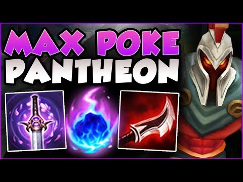 WTF?? ONE PANTHEON Q DOES HOW MUCH DMG?? FULL AD PANTHEON SEASON 8 TOP GAMEPLAY! – League of Legends