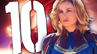 10 super faktów o Kapitan Marvel [TOPOWA DYCHA]