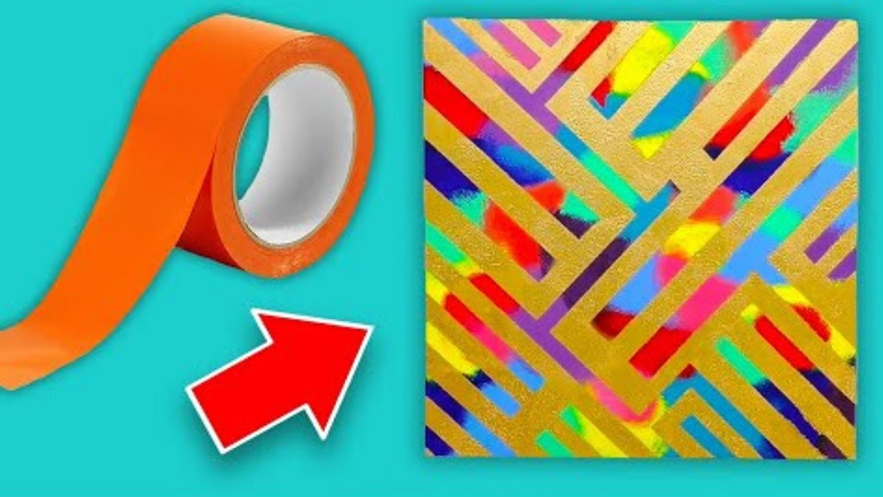 12 Easy Painting Hacks You Need To Try Youtube