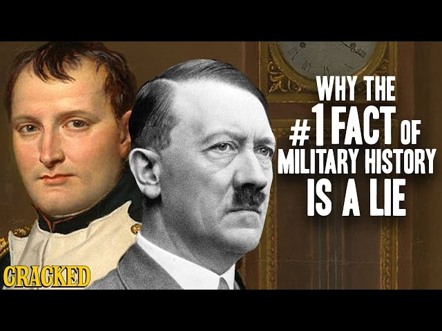 Why The #1 Fact Of Military History Is A Lie - Hilarious Helmet History