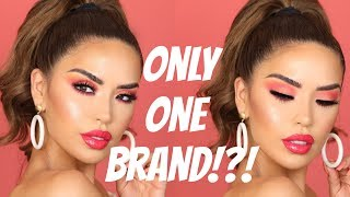 ONE BRAND MAKEUP TUTORIAL - MAYBELLINE | iluvsarahii