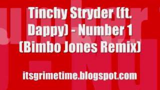 Tinchy Stryder (ft. Dappy) - Number 1 (Bimbo Jones Remix) (+MP3)