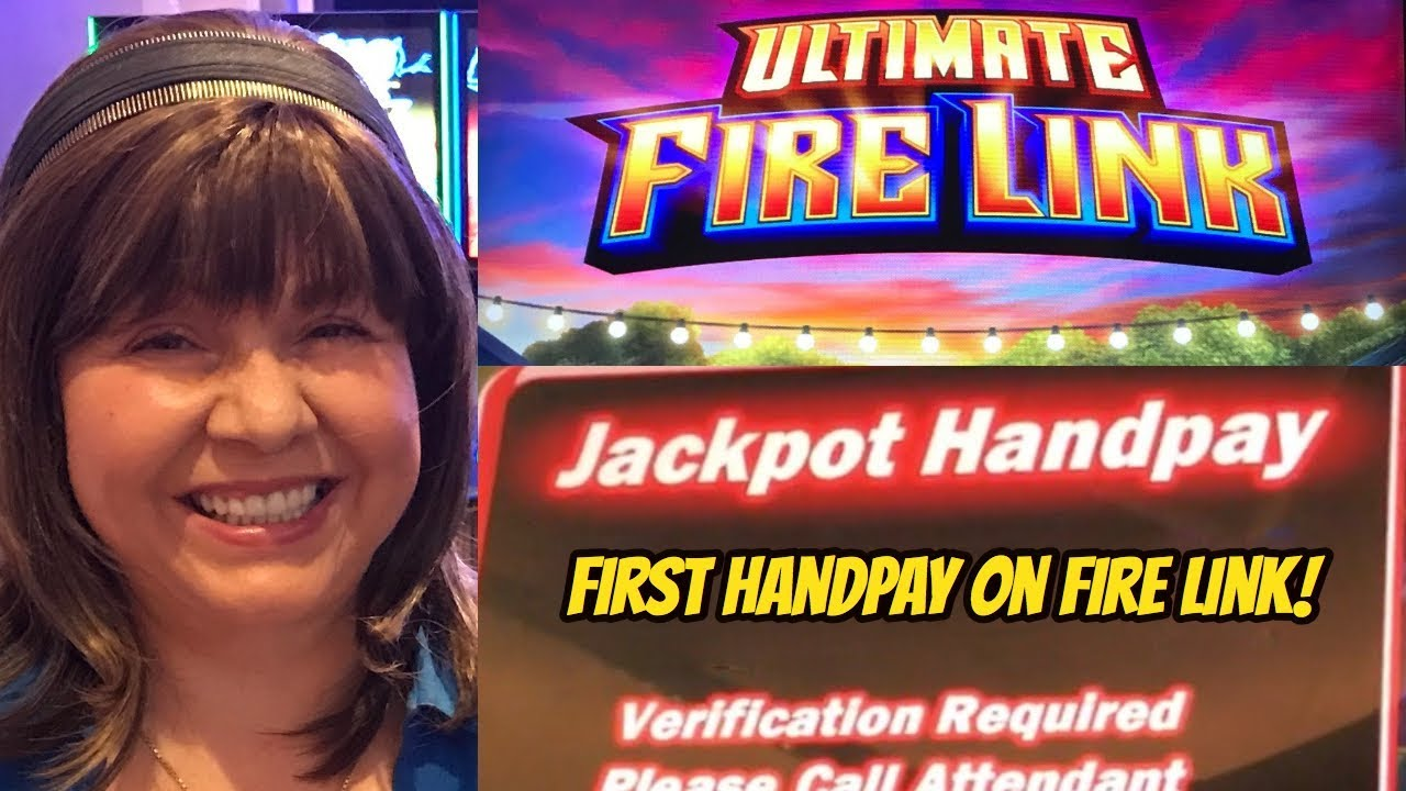 HANDPAY! GREAT BALLS OF FIRE- ULTIMATE FIRE LINK