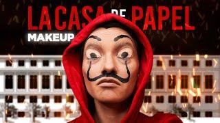 Бумажный дом Макияж La Casa De Papel Money Heist Makeup