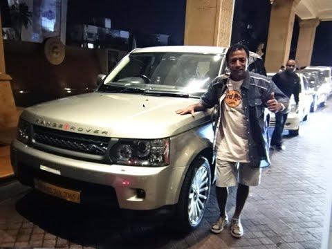 Range Rover, JW Marriott Hotel to Mumbai International Airport, India