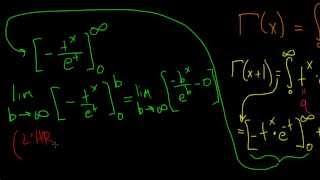 The Gamma Function: intro (5)