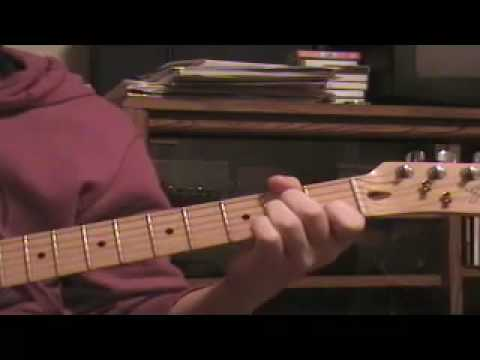 How to play Mr. Jones (chords) - YouTube