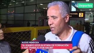 Alexis Mendoza habló sobre la goleada 3-0 que recibió Sporting Cristal ante Emelec