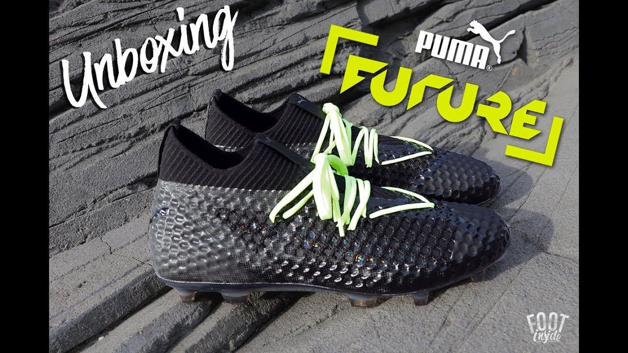 0bfc1cf21 Puma Future 18 1 NETFIT Sample Boot Unboxing - YouTube