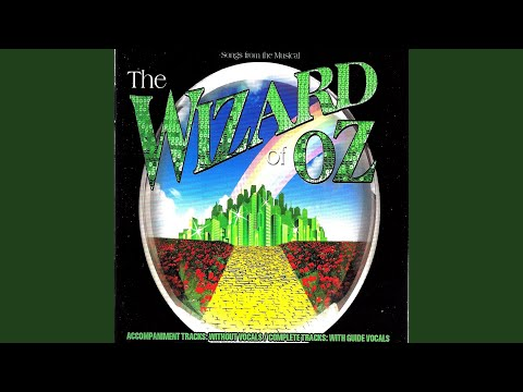 If I Only Had the Nerve / We're off to See the Wizard (Accompaniment Backing Tracks)