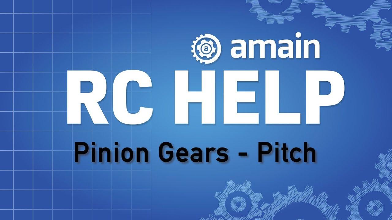R/C Help: Pinion Gears - Gear Pitch