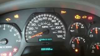 How to Reset the Oil Change Light on a Chevy Trailblazer