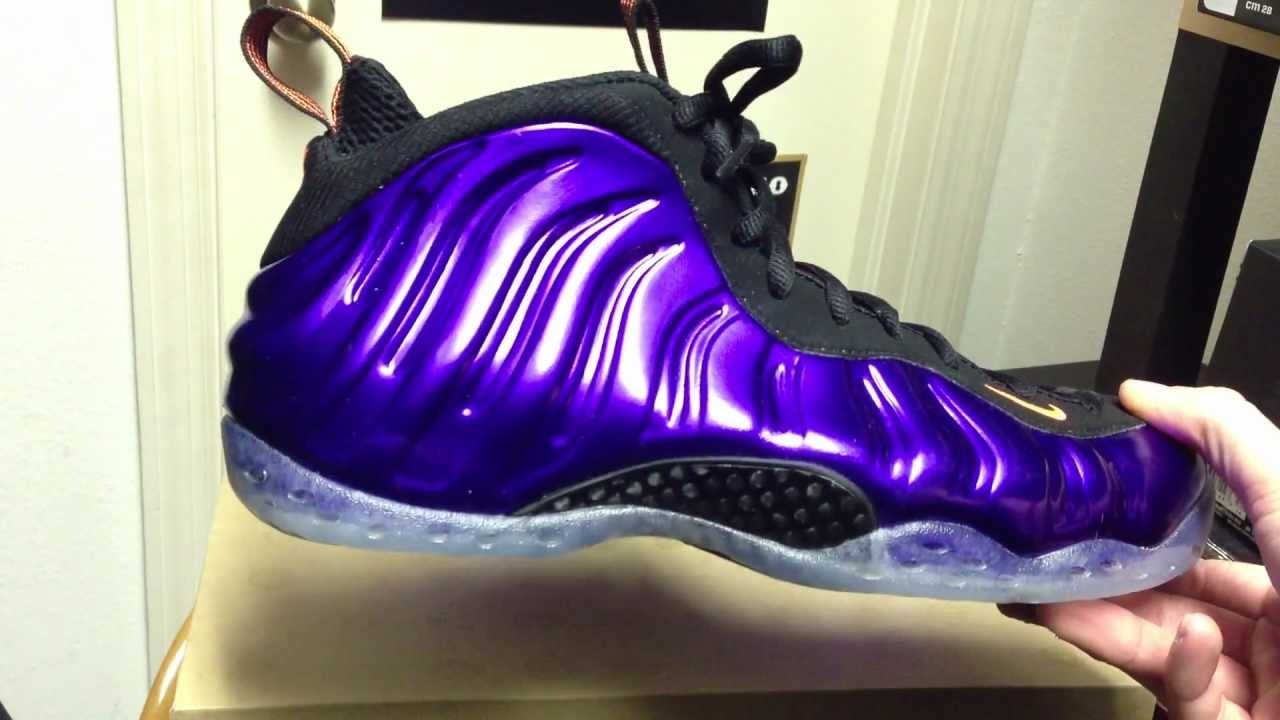 quality design d08fe 201eb Phoenix Suns Foamposite- Nike unboxing and sneaker review- On feet at end