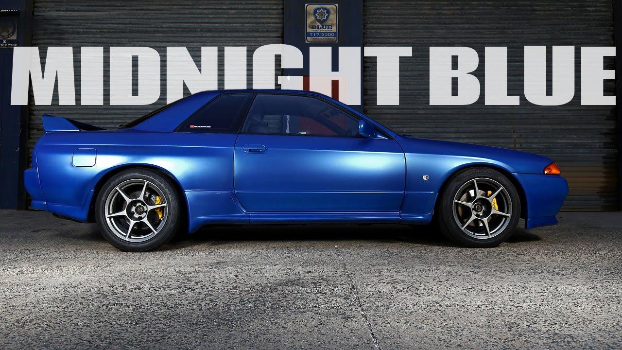 Midnight Blue Nissan Skyline R32 Gt R Youtube