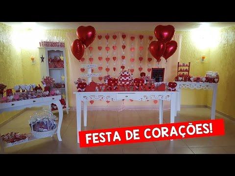 DECORAÇÃO: FESTA DE CORAÇÕES #DezembroTodoDia12