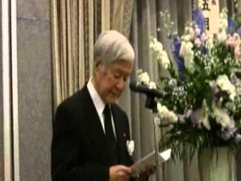 田英夫さんを偲ぶ会 楢崎弥之助...