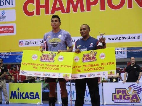 Detik2 Rendy Tamamilang Raih Penghargaan MVP atau Pemain Terbaik Proliga 2019