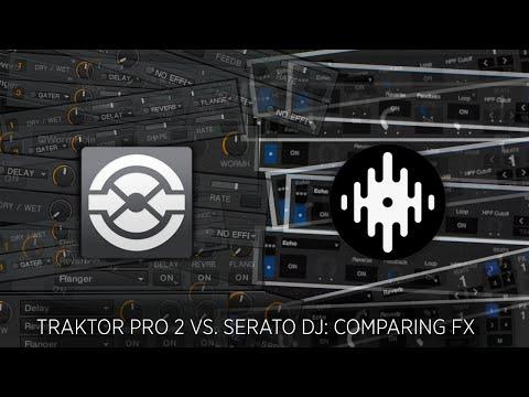 Traktor Pro 2 vs. Serato DJ: FX Comparison