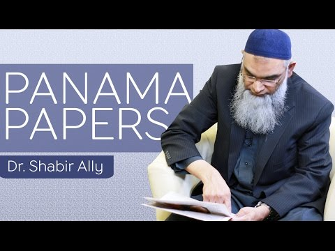 Panama Papers Leak | Dr. Shabir Ally