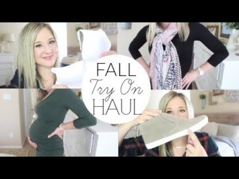 FALL Try On HAUL | Target, Old Navy | Non-Maternity and Maternity