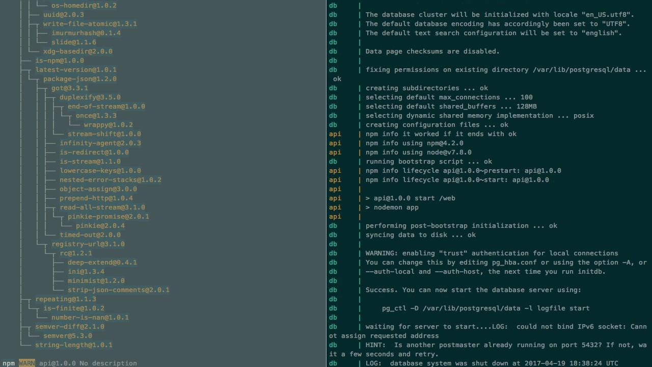 NoSQL#5 - NodeJS API with Postgres in Docker