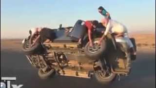 CAR(SUV) feets on the roads of Dubai
