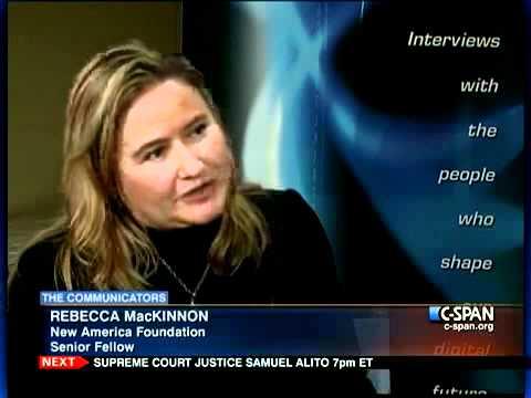 The Communicators: Rebecca MacKinnon