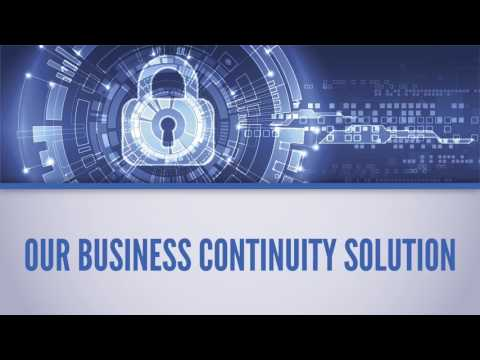 Back Up and Disaster Recovery Corporate Overview