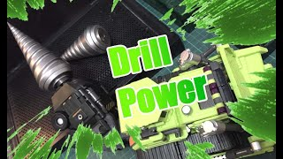 DIY Drill for Jinbao  Oversize GT Devastator!