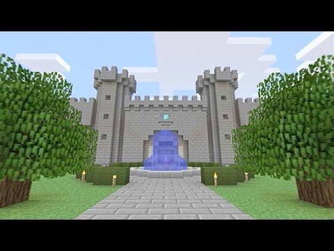 Minecraft】オリジナル西洋風城...